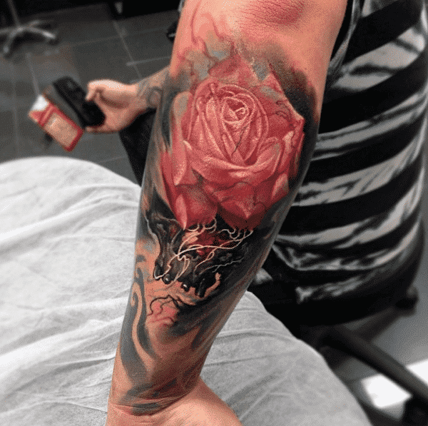 Floral Tattoos For Guys