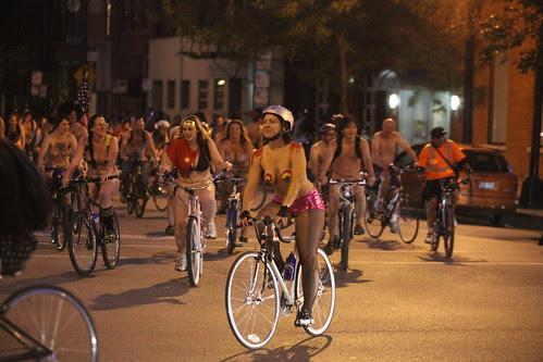 World Naked Bike Ride-Chicago