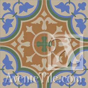 Roseton A Handmade Cement Tile