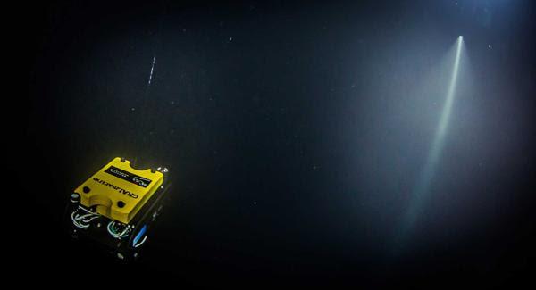 El robot que terminó la última parte del descenso (AP)