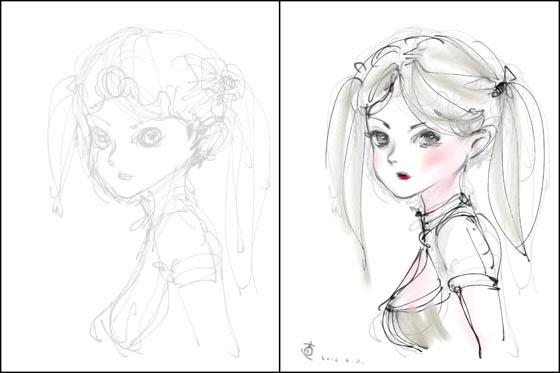 線で描く絵 加藤直之のブログ