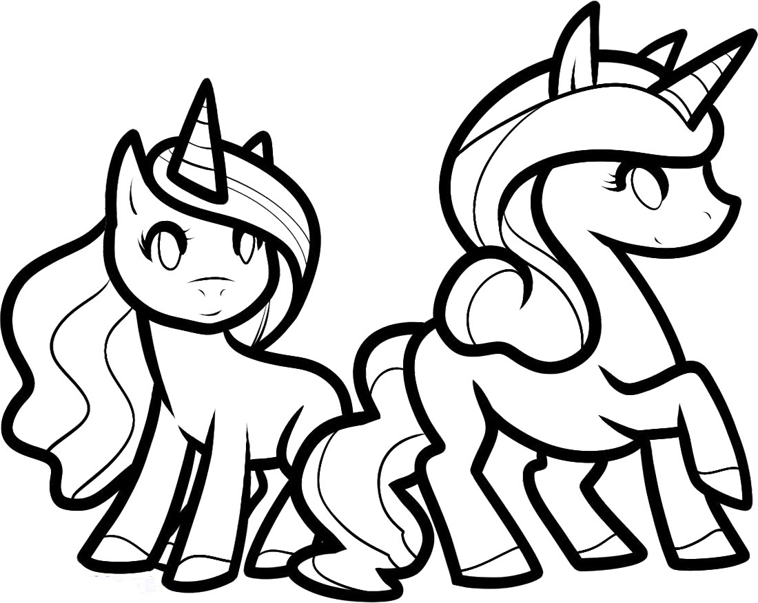Unicorn Coloring Pages To Download And Print For Free Coloring Pages