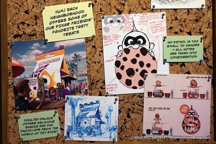 Concept Art pieces for Jack-Jack's Cookie Num Nums