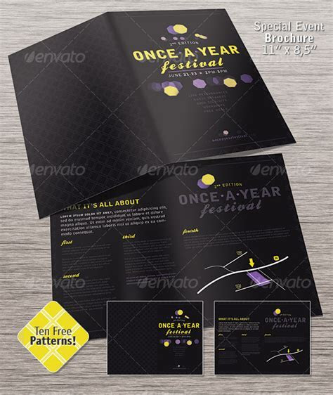 20 Cool event brochure Templates