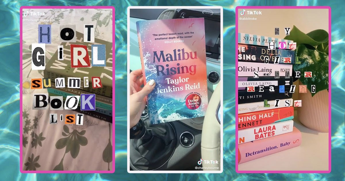 Hot girl summer reading list: The books recommended on BookTok