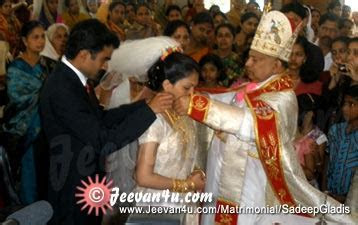 Sadeep Gladis Wedding Album at St Joseph Church