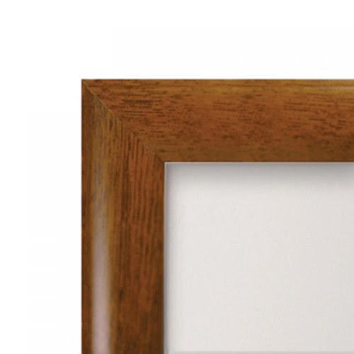 30 X 40 Wooden Effect Snap Frame 25mm Oak Pine