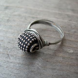 bali silver ring