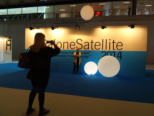 Una foto al Salone Satellite 2014 by Ylbert Durishti