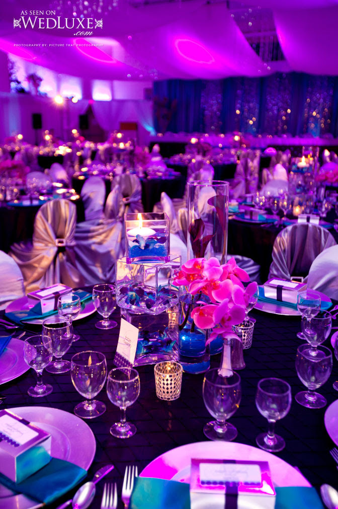 Purple And Blue Wedding Ideas