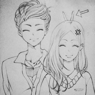 image result  pencil drawing boy  girl  friends