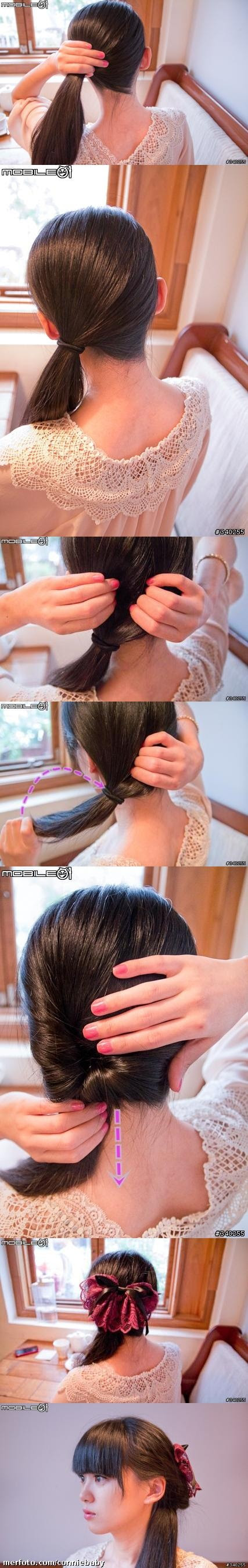 How to do a easy cute hair style