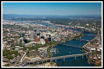 Portland Aerial Photo