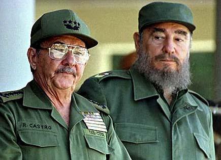 Fidel e Raul Castro