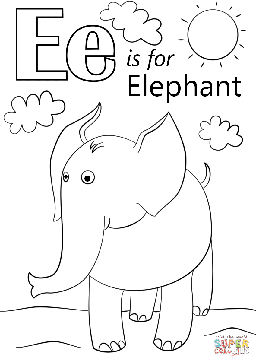 41+ Free Printable Coloring Pages Letter A HD