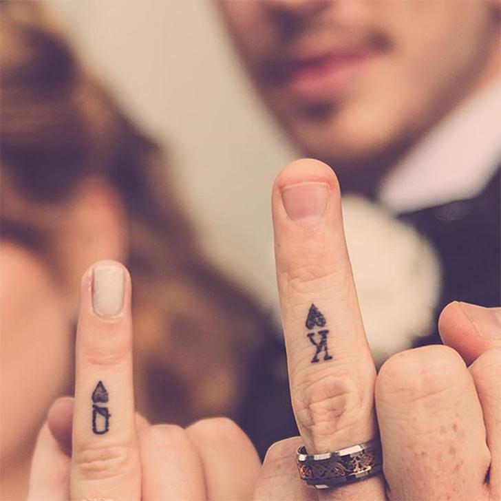 23 Parejas Que Escogieron Tatuajes En Lugar De Anillos De Compromiso