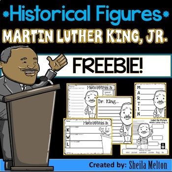 Martin Luther King Jr. Activities FREEBIE!! {Print and go!}