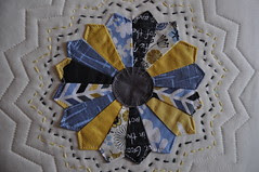 Madrona Road Pillow ~ Center Detail