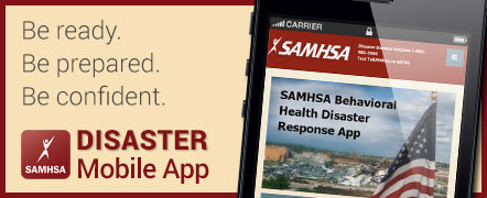 Be ready. Be prepared. Be confident. Disaster Mobile App.