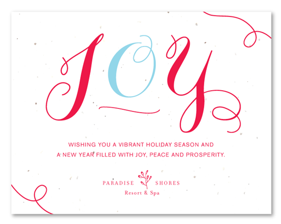 Christmas greetings messages for corporate ucap natal winter holiday greetings cards pure joy by green m4hsunfo