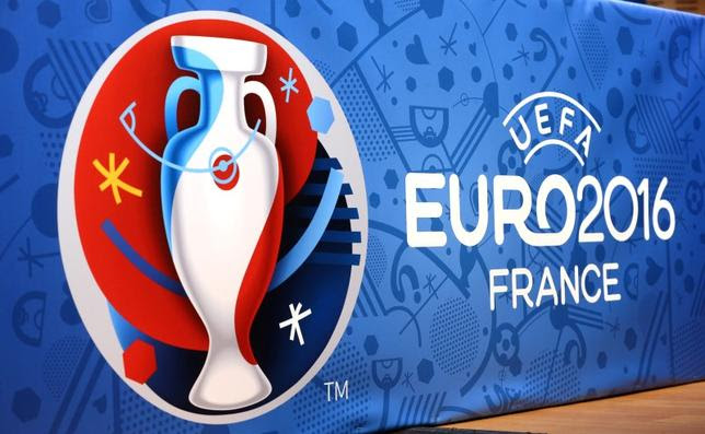 Logo for the upcoming Euro 2016 soccer championships. REUTERS/Charles Platiau