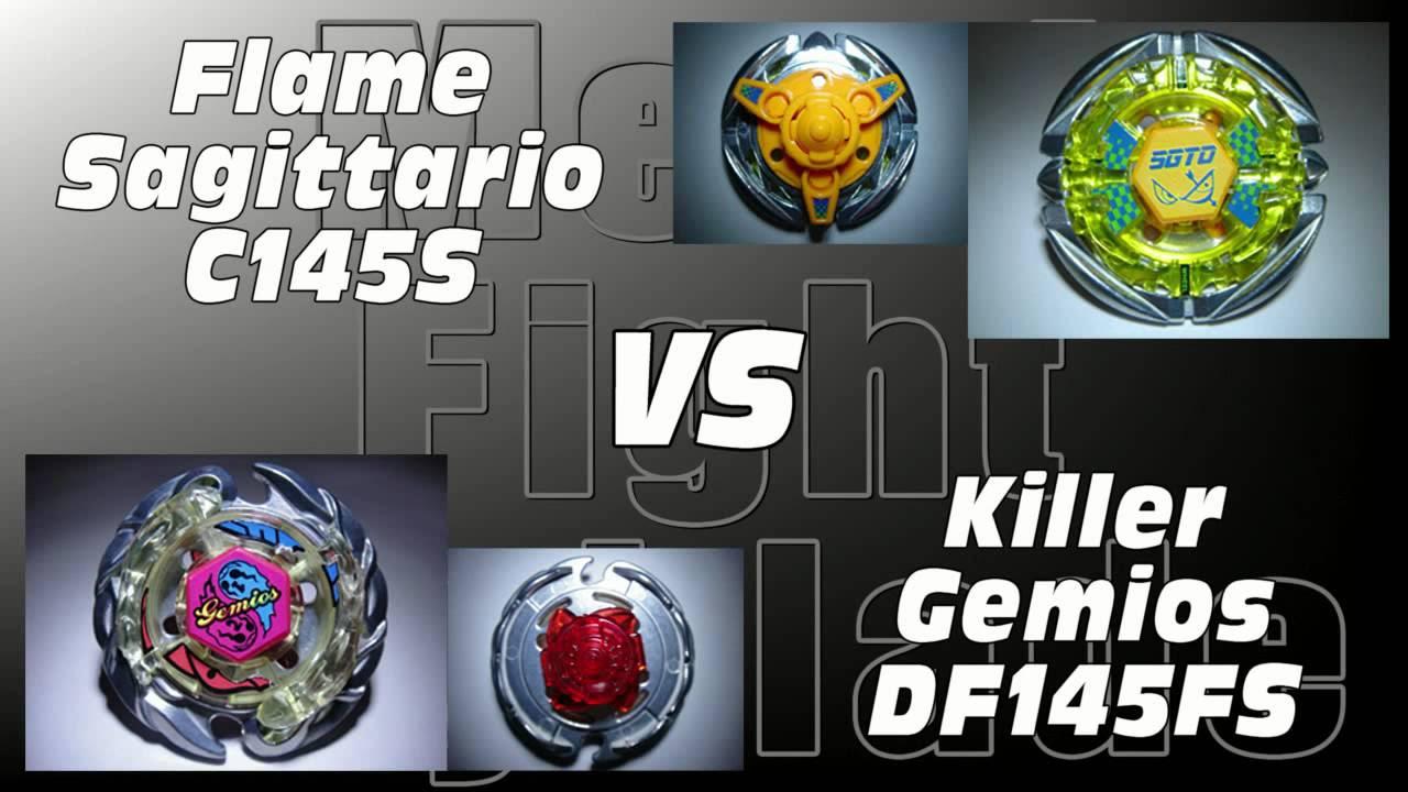 Flame Sagittario C145S VS Killer Gemios DF145FS - AMVBB ...