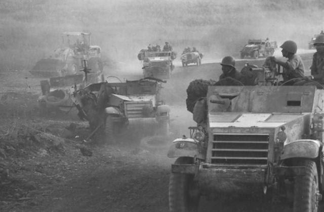 """מלחמת ששת הימים. כוחות צה""""ל עולים לרמת הגולן"""