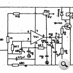 LM741-op-amp-báo động