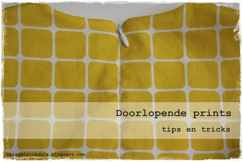 doorlopende prints - tips en trics