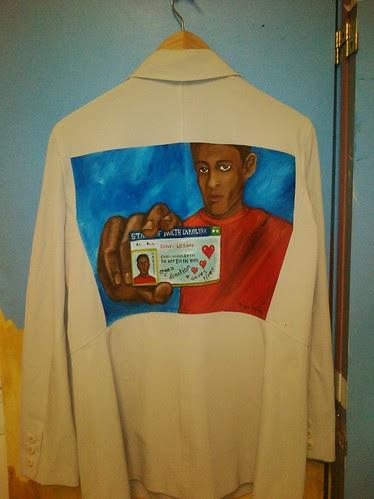 """""""No Small Matter"""" a jacket for Alisa Hughley"""