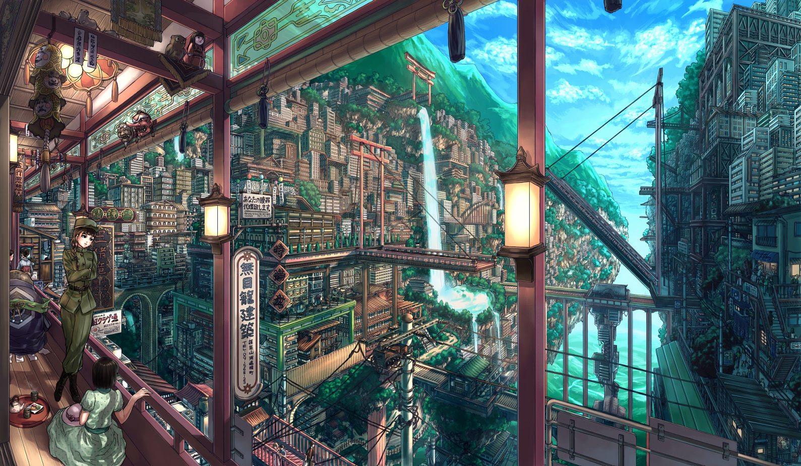 幻想的ファンタジー実在するなら行ってみたい空想の街 Naver まとめ