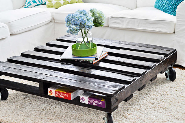 Top-10 D.I.Y ideas for Pallet Coffee Tables