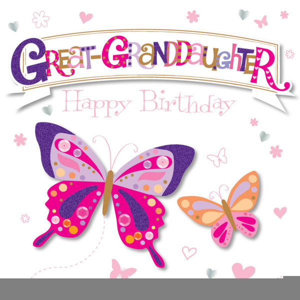 Happy Birthday Granddaughter Clipart Free Images At Clkercom