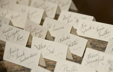 Place Card Ideas, Wedding Invitations Photos by Sasso