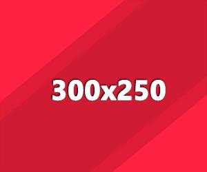 300x250 ad banner