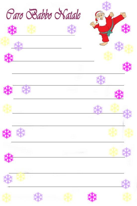 Agenda Di Margherita Letterine Per Babbo Natale Da Stampare E Compilare