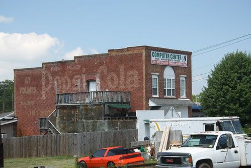 Pepsi-Cola Ghost Billboard - Rural Hall, NC