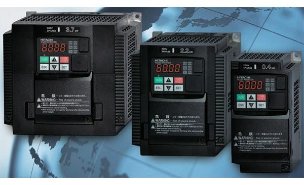 Nueva gama de variadores de frecuencia de Hitachi