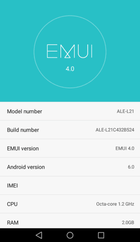 Huawei P8 Lite B524