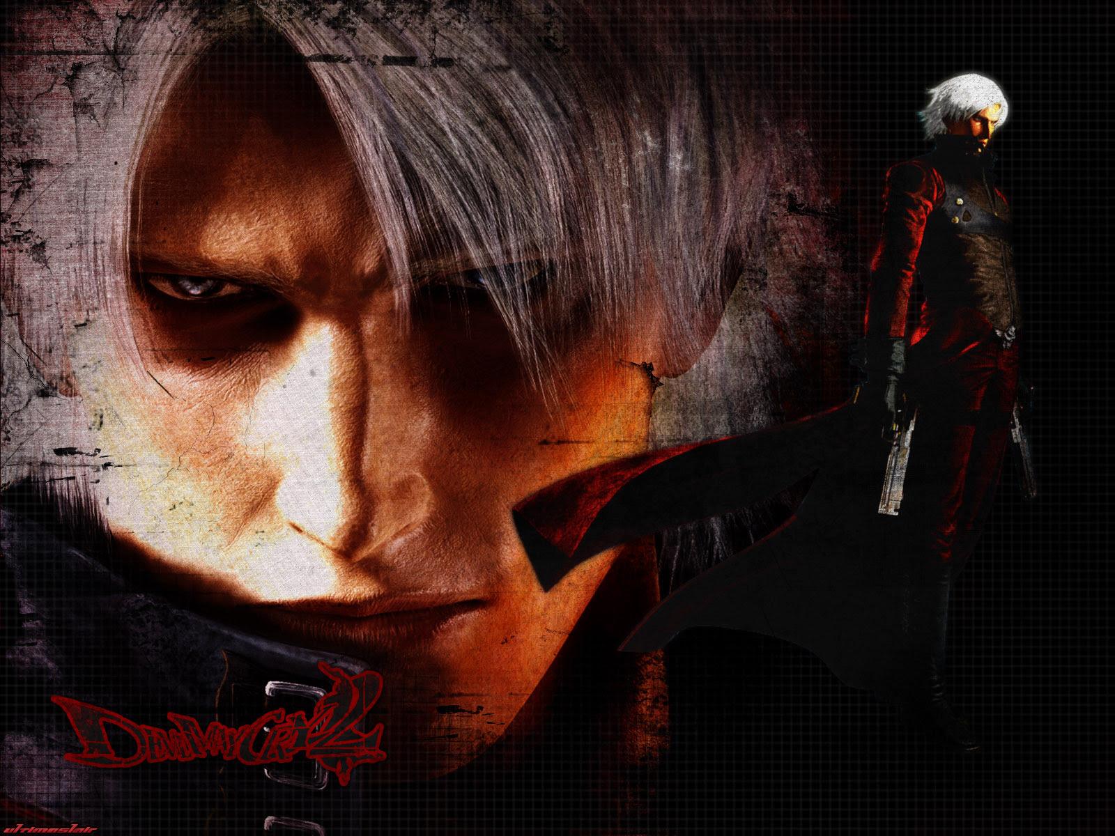 Devil May Cry Wallpaper Dante The Hunter Minitokyo