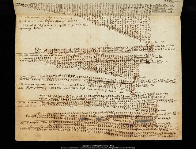 Perierga.gr - Οι αυθεντικές σημειώσεις του Νέυτωνα, γραμμένες στα ελληνικά!