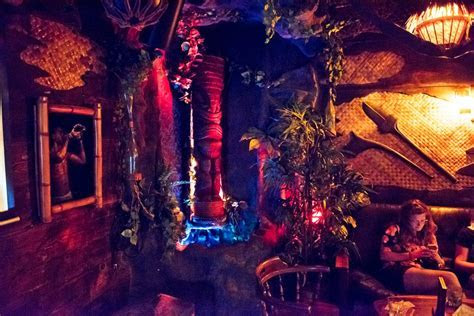 Forbidden Island Tiki Bar Review   Alameda California