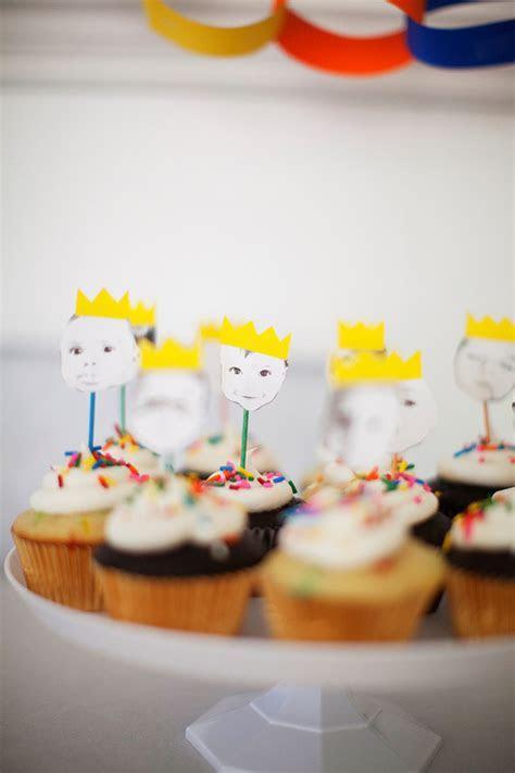 "Colorful ""Royal"" 1st birthday   Kids Birthday Parties"