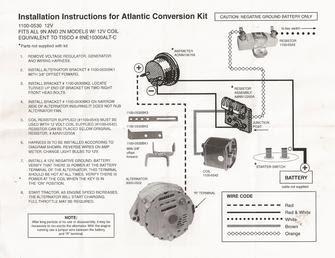 34 Ford 8n Wiring Diagram 12 Volt Wiring Diagram List