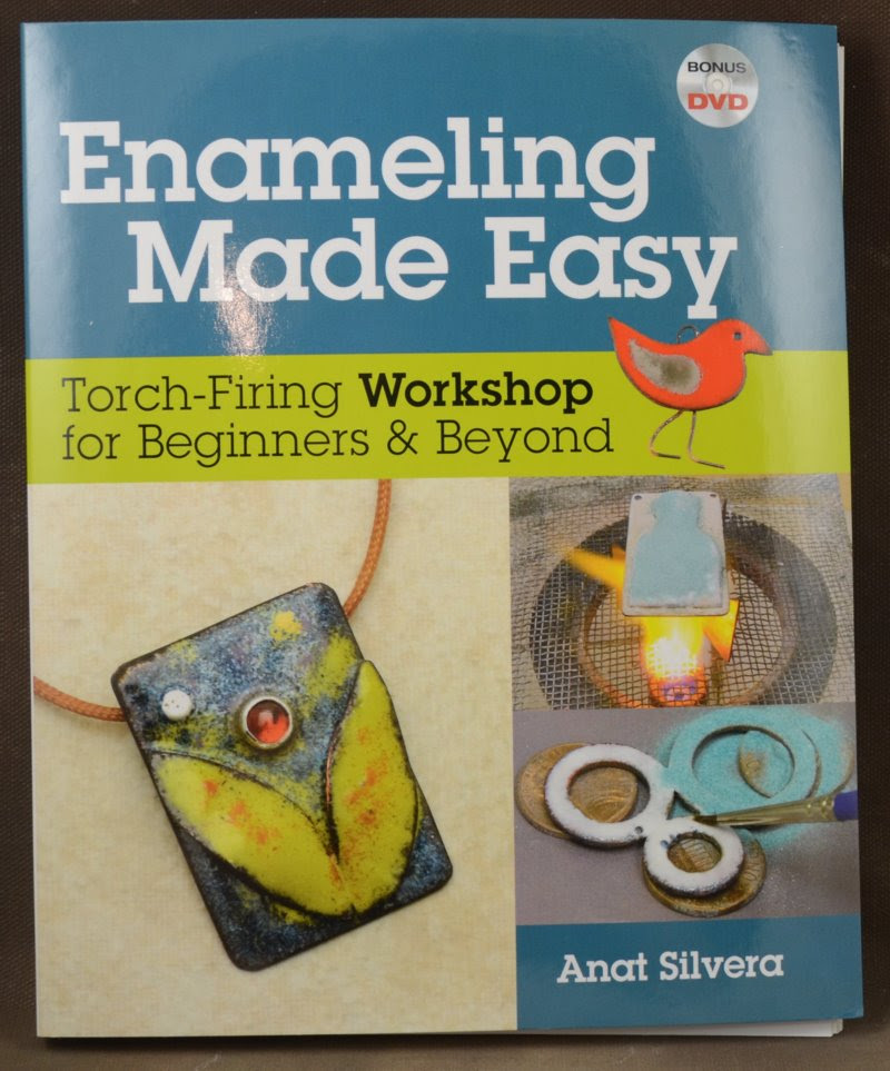 s38785 Book -  Enameling Made Easy - by Anat Silvera