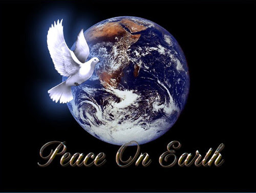 Peace on earth, and goodwill to all.