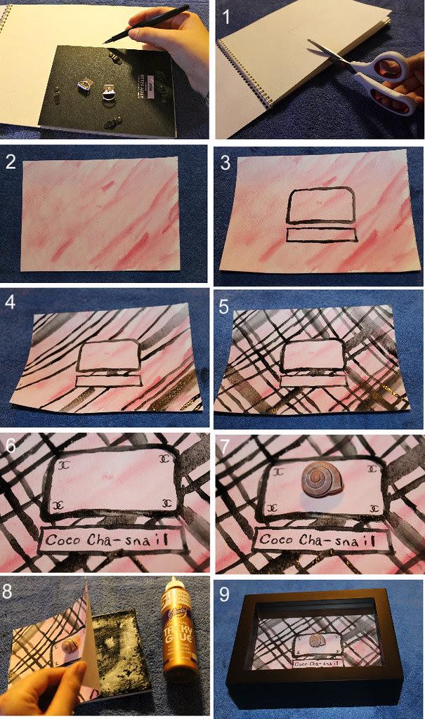 How to artfully display a small treasure