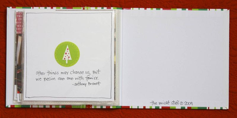 Christmas Mini Album | iloveitallwithmonikawright.com