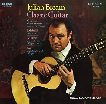 BREAM, JULIAN classic guitar