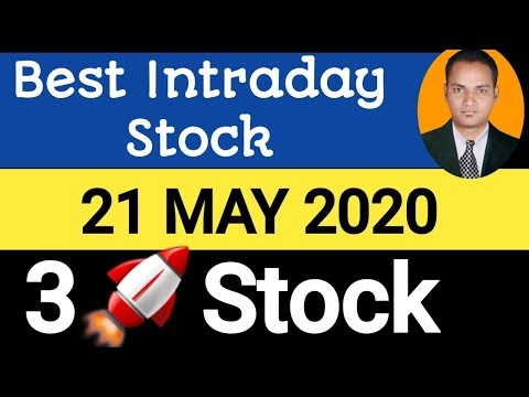 Best intraday trading stock For 21 May 2020   stock for tomorrow trading...